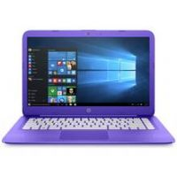 HP Stream 14 Inch Celeron 4GB 32GB Cloudbook - Purple