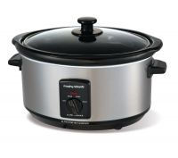 MORPHY RICHARDS 48709 Slow Cooker - Stainless Steel, Stainless Steel