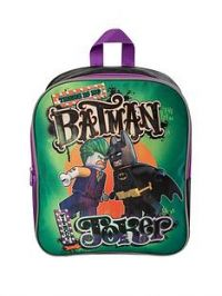 LEGO Batman Lego Batman - Joker Backpack and Lunch Bag Set