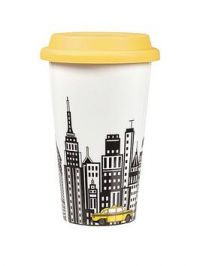 Portmeirion Cityscapes Travel Mug With Silicone Lid &Ndash; New York