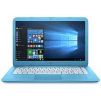 HP Stream 14 Inch Celeron 4GB 32GB Cloudbook - Blue