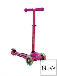U Move U Flex LED Tilt Scooter - Pink