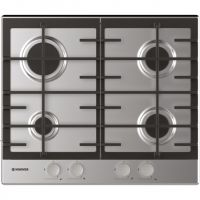 Hoover HHG6BRSX 60cm Gas Hob - Stainless Steel