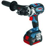 Bosch GSR 18 V-85 C Professional Connected 18V Drill/Driver with 2x5.0Ah Batteries