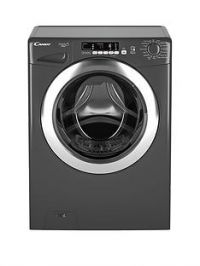 Candy Grand'O VitaGVS1410DC3R 10kg Load, 1400 Spin Washing Machine with Smart Touch- Graphite