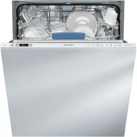Indesit DIFP8T94Z Fully Integrated Standard Dishwasher - Silver Control Panel with Fixed Door Fixing Kit - A++ Rated