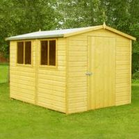 Homewood Lewis Wooden 10 x 6ft Shiplap Shed