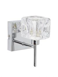Ice Cube Square Wall Light Fitting