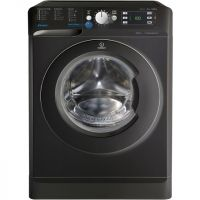 Indesit BWE91484XKUK 9Kg Washing Machine with 1400 rpm - Black - A+++ Rated
