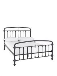 Brighton Metal Bed Frame - Bed Frame With Memory Foam Mattress