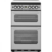 Newworld NW550TSIDOM Gas Cooker with Electric Grill - Silver - A/A Rated