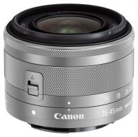 Canon EF-M 15-45mm f/3.5-6.3 IS STM Zoom Lens - Graphite