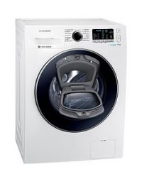 Samsung WW70K5410UW/EU 7kg Load, 1400 SpinAddWash™ Washing Machine with ecobubble™ Technology and 5 Year Samsung Parts and Labour Warranty - White