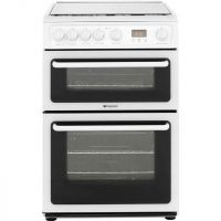 Hotpoint HAGL60P Gas Cooker - White
