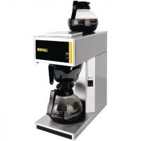 Buffalo G108 Commercial Filter Coffee Machine - Brushed Steel