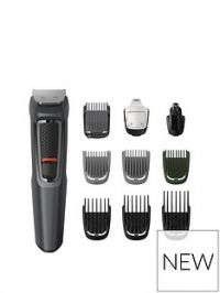 Philips Philips Series 3000 10-In-1 Multi Grooming Kit For Beard, Hair And Body With Nose Trimmer Attachment - Mg3747/33