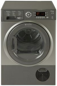 Hotpoint SUTCD97B6GM 9KG Condenser Tumble Dryer - Graphite