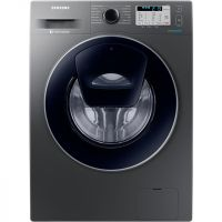 Samsung AddWash™ ecobubble™ WW80K5413UX 8Kg Washing Machine with 1400 rpm - Graphite - A+++ Rated
