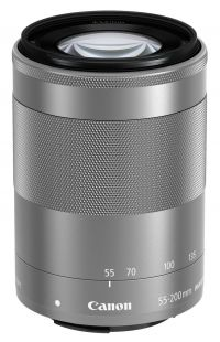 Canon EOS-M 55-200mm f/4.5-6.3 Zoom Lens