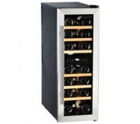 HUSKY HUS-CN215 Drinks & Wine Cooler - Black & Silver