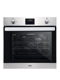 Belling Bel Bi602Fpct 60Cm Built In Equiflow Single Electric Oven With Bluetooth Connectivity - Stainless Steel