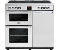 BELLING Gourmet 90E PROF STA 90 cm Electric Range Cooker - Stainless Steel