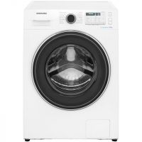 Samsung ecobubble™ WW80J5555FA 8Kg Washing Machine with 1400 rpm - White - A+++ Rated
