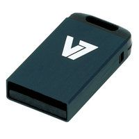V7 4GB USB 2.0 Nano Flash Drive (Black)
