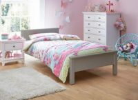 Hutchin Wooden Bed Frame