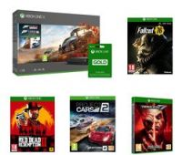 MICROSOFT Xbox One X, LIVE Gold Membership, Forza Horizon 4, Forza Motorsport 7, Tekken 7, Red Dead Redemption 2, Fallout 76 & Project Cars 2 Bundle