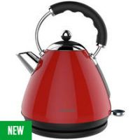 Cookworks Pyramid Kettle - Red