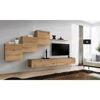 Neo Floating TV Entertainment Unit - Wooden
