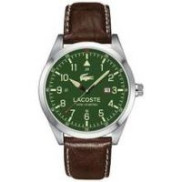 Lacoste Montreal Men's Brown Leather Strap Analogue Watch