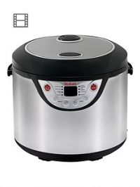 Tefal RK302E15 Multicook 8-in-1 Multicooker - Stainless Steel