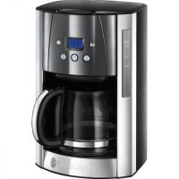 Russell Hobbs Luna 23241 Filter Coffee Machine with Timer - Grey
