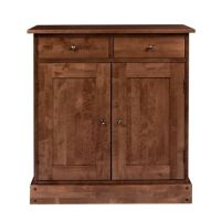 Garrat Cherry 2 Door 2 Drawer Narrow Sideboard