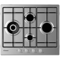 Candy CHW6D4WX 60cm Gas Hob - Stainless Steel