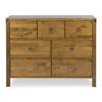 Balmoral Honey 7 Drawer Chest