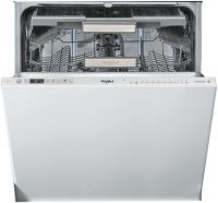 Whirlpool WIO3O33DELUK Fully Integrated Standard Dishwasher - Silver Control Panel with Fixed Door Fixing Kit - A+++ Rated