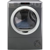 Candy Grand'O Vita GVSC10DCGR 10Kg Condenser Tumble Dryer - Graphite - B Rated