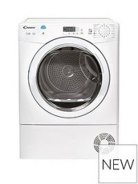 Candy CSVC8LG 8kgLoad Condenser Sensor Tumble Dryer with Smart Touch - White