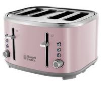 RUSSELL HOBBS Bubble 24412 4-Slice Toaster - Pink