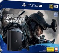 Sony Playstation 4 (PS4) Pro 1TB Console With Call of Duty Modern Warfare