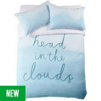 Argos Home Head in the Clouds Bedding Set - Double