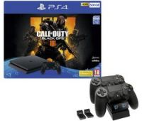 SONY PlayStation 4 500 GB with Call of Duty: Black Ops 4 & Twin Docking Station Bundle