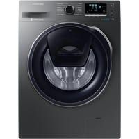 Samsung WW90K6410QX AddWash/ EcoBubble 9kg 1400rpm Freestanding Washing Machine-Graphite