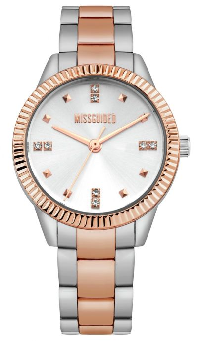Missguided Silver Coloured Bracelet Watch Best Price, Cheapest Prices