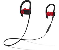 BEATS Decade Collection Powerbeats3 Wireless Bluetooth Headphones - Red & Black Best Price, Cheapest Prices