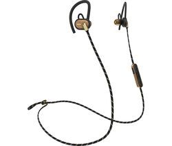 HOUSE OF MARLEY Uprise EM-FE063-BA Wireless Bluetooth Headphones - Brass Best Price, Cheapest Prices