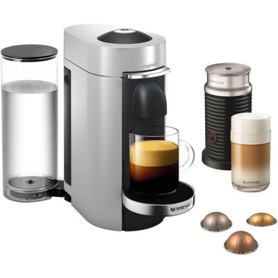 Nespresso by Magimix Vertuo Plus & Milk 11388 - Silver Best Price, Cheapest Prices